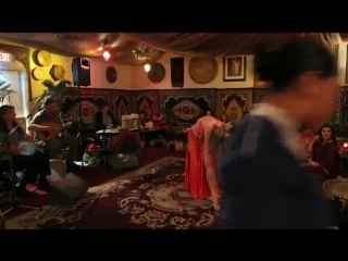 Maria at El Morocco ~ belly dance ~ Mavi Mavi Miserlou tabla 1716