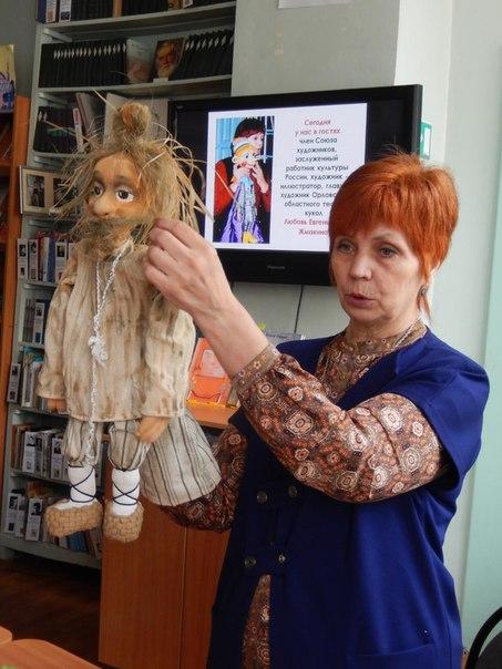 Выставка эскизов кукол Любови Жмакиной в администрации