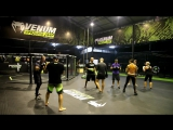 Школа бокса Good Old Boxing - Отработка одиночного прямого удара(24.04.17)