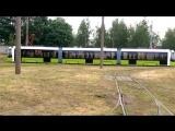 Трамвай STADLER В85600М (Метелица) для Санкт-Петербурга.  Первые испытания... Минск, июнь 2017
