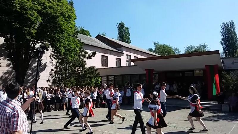 Вальс выпускников 2017 г. Тирасполь 4 школа