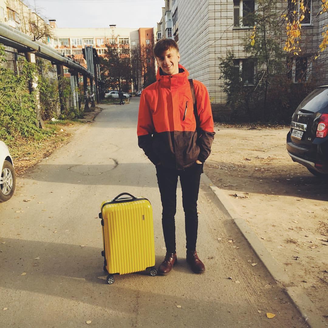 Уехал в Москву с одним чемоданом