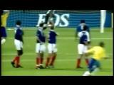 Знаменитый гол Роберто Карлоса в ворота сборной Франции.