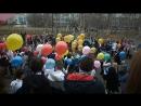 Прощальный вальс и запуск шаров в небо 25 мая 2017 г