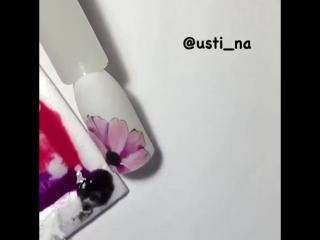 мк • tutorial • художественная роспись • цветы • flowers