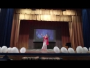 Танец Влюблённая исполнение и постановка Дарьи Горовой группа Айси студия Гандхарвика 21.06.2017