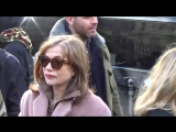 Isabelle HUPPERT @ Paris 5 mars 2016 Fashion Week défilé ACNE Studios | Изабель Юппер
