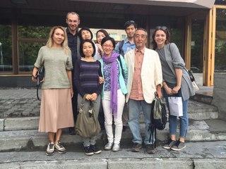 Гости из Японии в Кедровом дом...