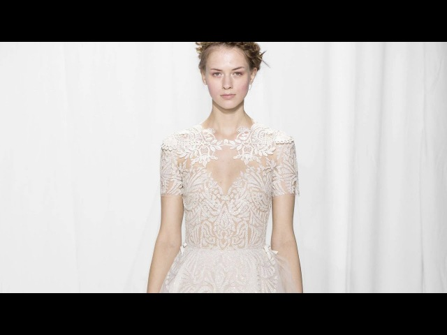 Reem Acra Fall Winter 2017 Bridal Collection Full Fashion Show Exclusive
