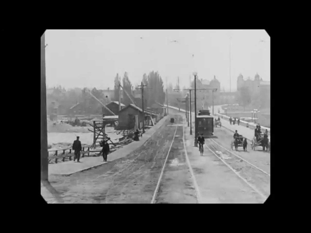 May 1907 - Ride through Victoria and Vancouver, Canada (speed corrected w/ added sound)