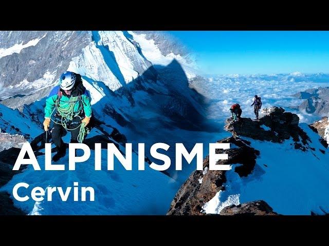 Cervin Cervino Matterhorn Arête du Lion Arête Sud-Ouest alpinisme - 10934