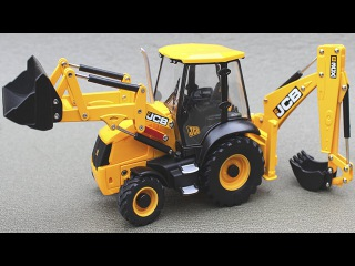 JCB Excavator Digging with Giant Trucks Videos for Kids | Truck Construction Cartoon for Children