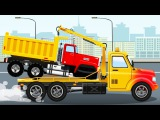 The Yellow Tow Truck +1 Hour Kids video Compilation incl Truck &amp Vehicle &amp Chi Chi Car for children