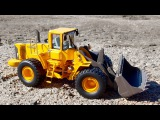 Car Cartoon - Yellow Bulldozer digging and Excavator +1 Hour Kids Video incl Construction Trucks