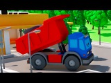 Мультфильмы для Детей Грузовик в Городе Машинок – 3D Мультики НОВЫЕ СЕРИИ Сборник