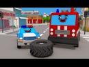 НОВИНКА! Полицейская Машина МЕГА ГОНКИ Мультфильмы для детей 2017
