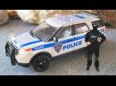 Видео для детей про машинки Полицейская Машина - Спасательная техника в Городке ...