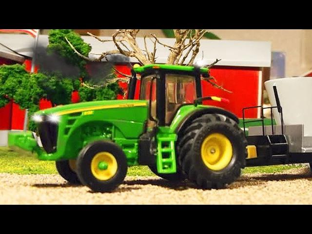 Traktor - Dobre Traktorki i Auta - Bajki dla dzieci po polsku | Maszyna rolnicza Kreskówki