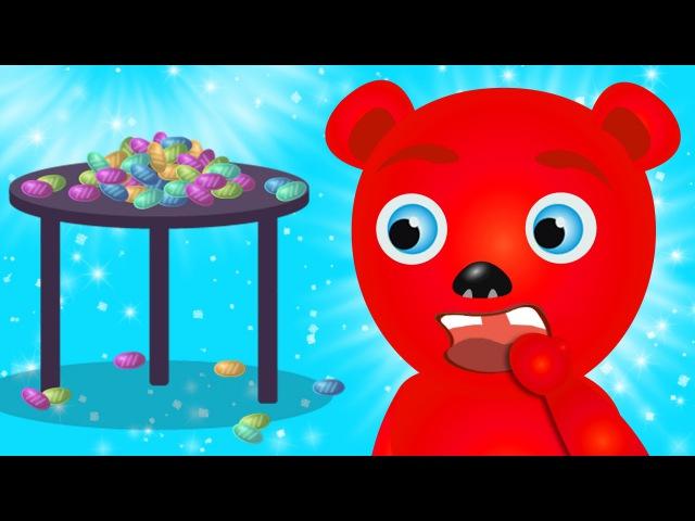 Mega Gummy Bear Teeth Doctor Dentist Finger Family Nursey Rhymes For KIDS Children