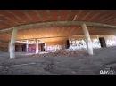 От первого лица - Скоростной полет квадрокоптера по заброшенному зданию