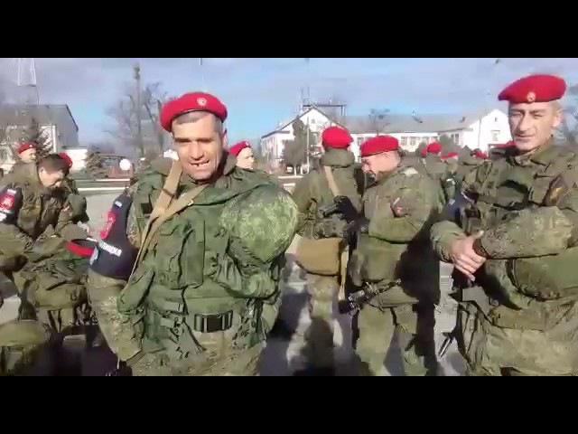 Отправку сотен бойцов чеченской военной полиции в Сирию сняли на видео