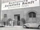 Nazi exhibition of degenerate art, Munich 1937