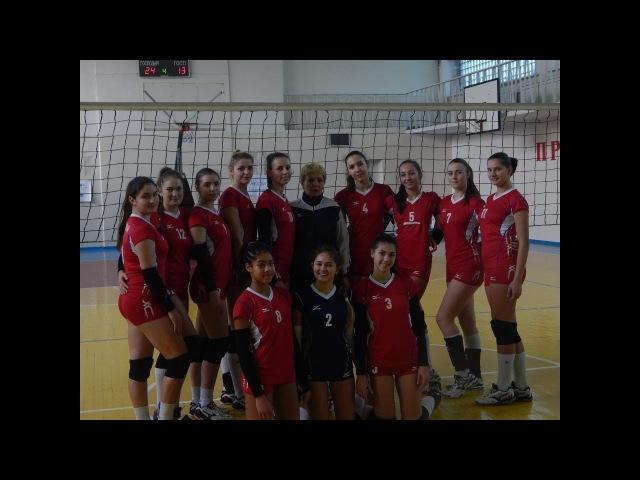 Моменти гри І етап ІІ туру Спортліцей -Новатор чемпіонату України вищої ліги з волейболу серед жінок