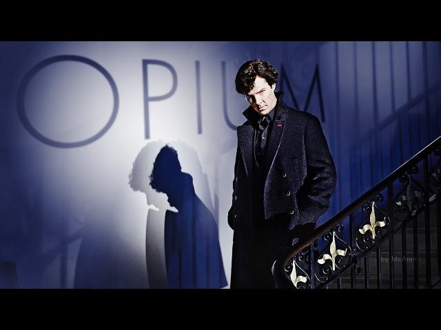 Sherlock moriarty | opium