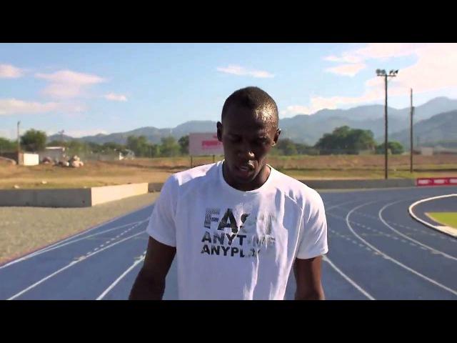 Usain Bolt о беге на 100 м