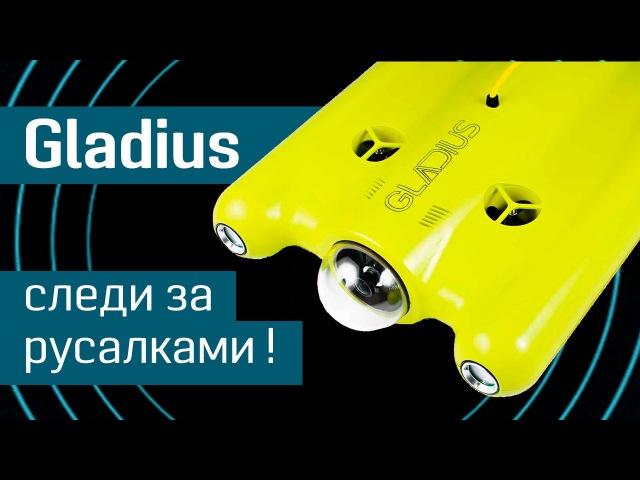 Подводный беспилотник Gladius: подглядывай за русалками - робот для подводной съемки - Indiegogo