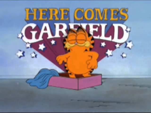 Here Comes Garfield intro