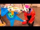 КЛОУН КИЛЛЕР В НАШЕМ ДОМЕ Клоун КИЛЛЕР НАПАЛ НА ДЕТЕЙ! Scary Killer Clown!
