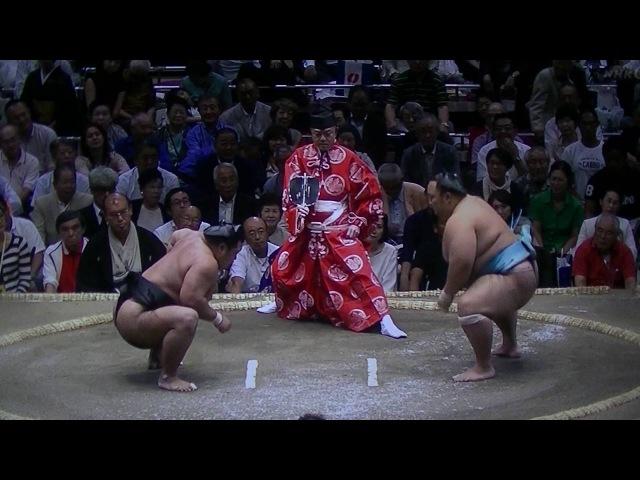 2016 相撲(SUMO) 9月場所(Sept.Stage) 三日目(3 day) 松鳳山(Syouhouzann) VS 琴勇輝(Kotoyuuki)