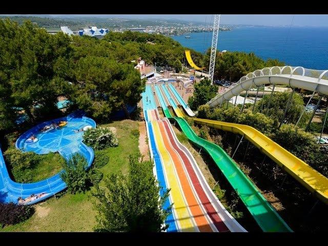 Аквапарк Water Planet Турция Алания