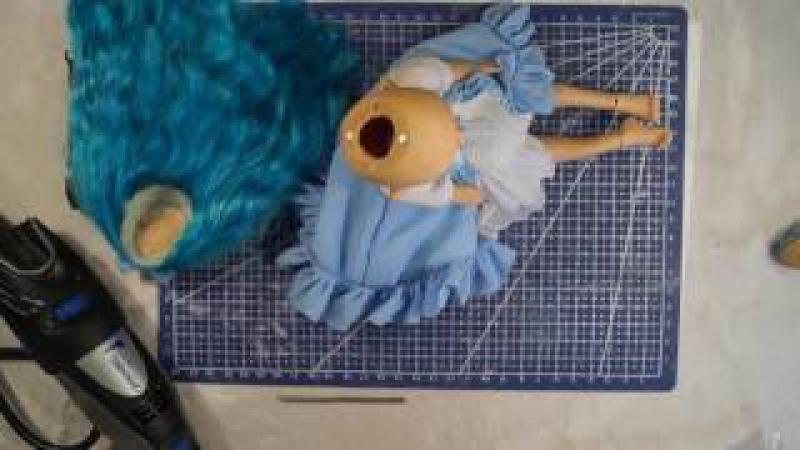 Шарнирная кукла своими руками с нуля часть 12 Предварительная сборка мастер модели смотреть онлайн без регистрации