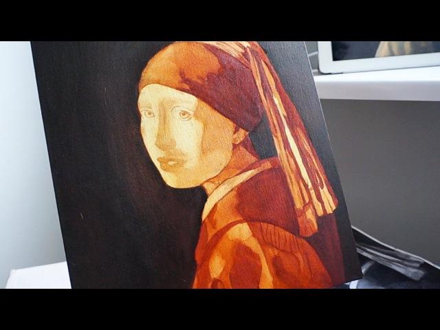 Уроки живописи маслом. Девушка с жемчужной серёжкой.Часть 2. Техника старых мастеров