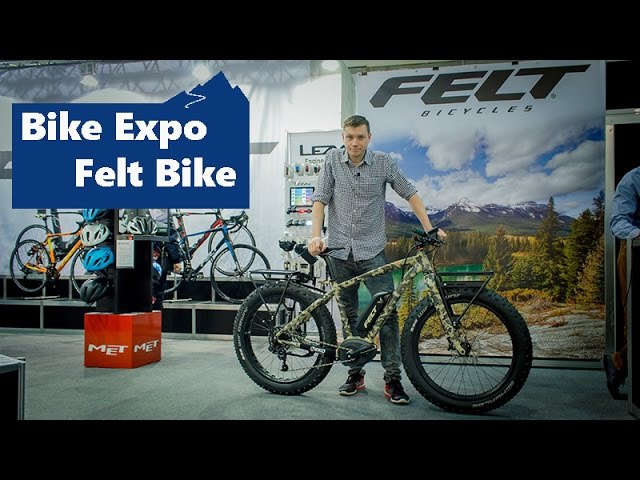 BIKE EXPO 2017 стенд Felt Bike Decree Trail 27 5 Outfitter Redemption e 30