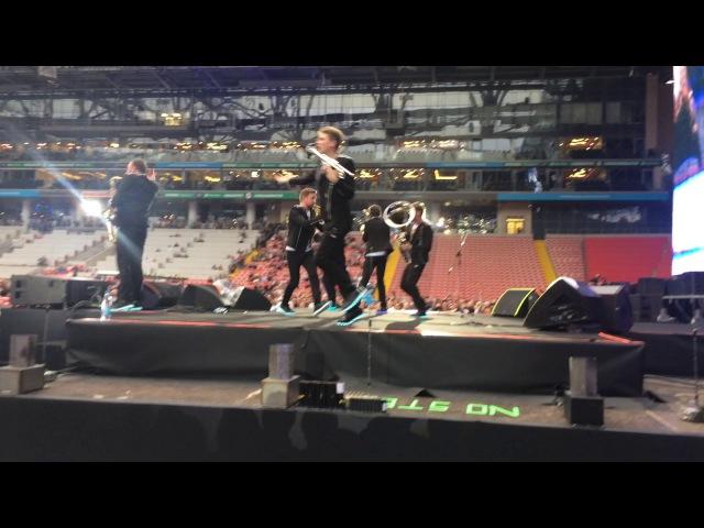 Bravice brass bend в олимпийском на разогреве Ленинград