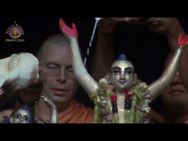2017 Mayapur Gaura Purnima Day Abhisheka - Live Kirtan.