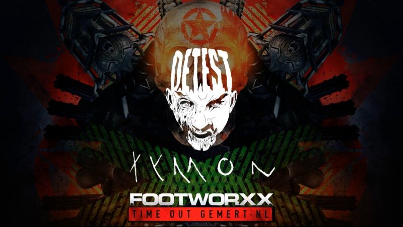 Detest Tymon Live at FOOTWORXX NL 2017
