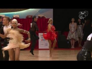 Армен Цатурян - Светлана Гудыно   Джайв - 2017 GS LAT Hong Kong R2 J