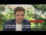 Interview of Robert Pattinson with Page Six