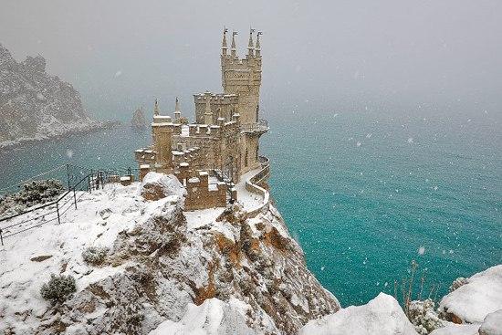 Зима в Крыму закончится в середине февраля