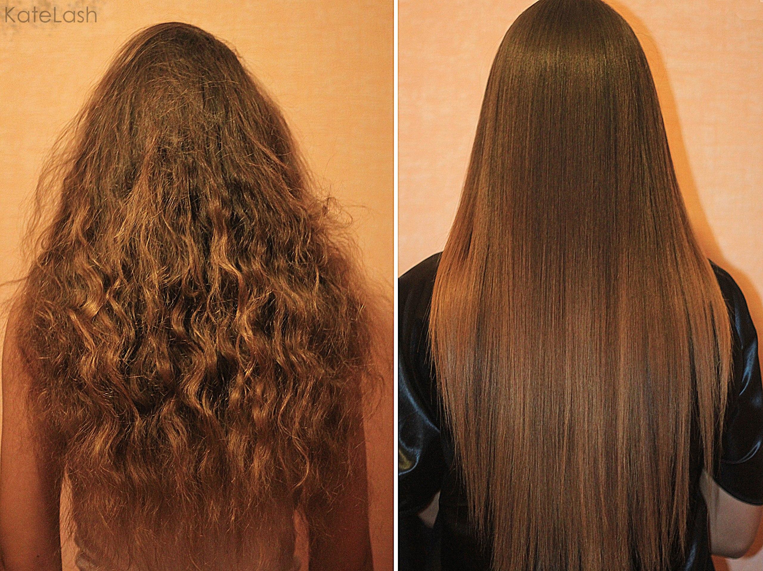 Кератиновое восстановление волос 23
