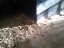 обрушение потолка в бараке 22.07.2017