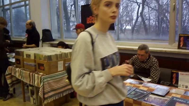 Винил CD маркет на выставке Арт-Аура №3 в КЦ ЗИЛ (04.02.2017 г.)