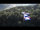 Затяжные прыжки со скалы в костюме-крыле 2013 HD