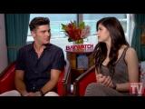 13.05.2017 - Lifeguard TV  - Zac Efron and Alexandra Daddario