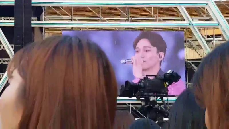 Чондэ изменил лирику в Sing for you на EXO-L - божий дар
