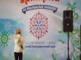 Мария Богомолова на Рождественской ярмарке на Московской площади_2017